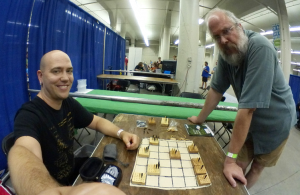 Playing Eigenstate with Scott Gaff at the 2017 Twin Cities Maker Faire